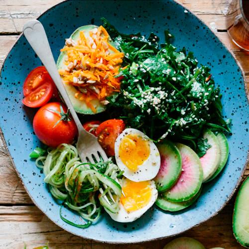 Mogrela Salad